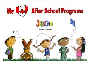 We love after school programs